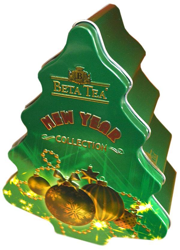Чай Beta Tea Елка зеленая черный листовой
