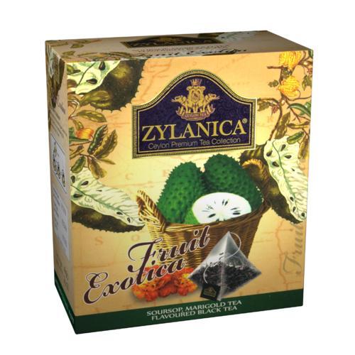 Чай черный Zylanica Fruit Exotica Soursop & Marigold 20 пакетов