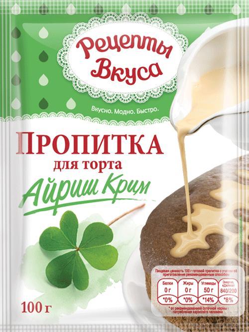 Пропитка для торта Рецепты вкуса Айриш крим