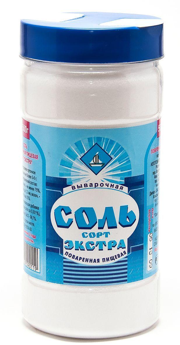 Соль Соль Руси Экстра поваренная пищевая выварочная
