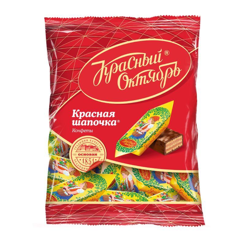 Конфеты Красный Октябрь Красная Шапочка 250 гр