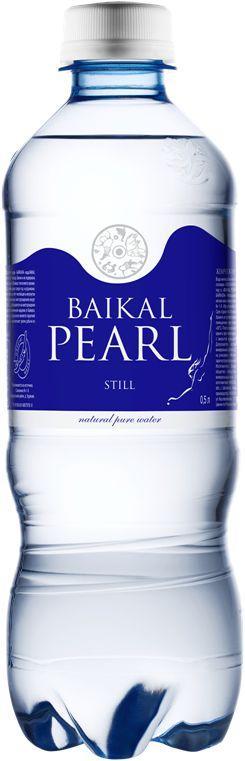 Вода Жемчужина Байкала питьевая негазированная