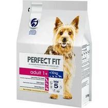 Корм сухой для взрослых собак от 1 года мелких и миниатюрных пород, с курицей Perfect Fit 10 кг. Дой-пак