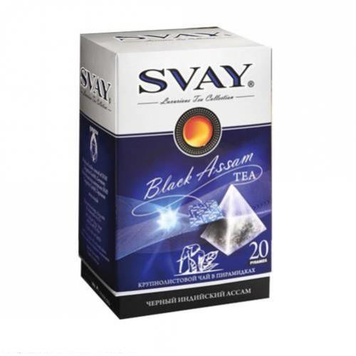Чай черный Svay Black Assam 20 пакетов