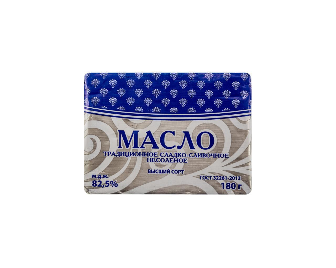 Масло Молоко плюс сливочное традиционное 82,5%