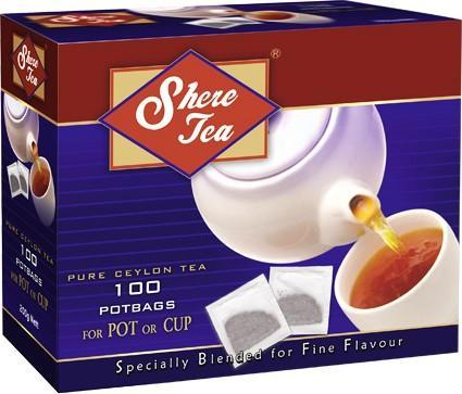 Чай Shere Superior Blend черный в пакетиках 200 гр