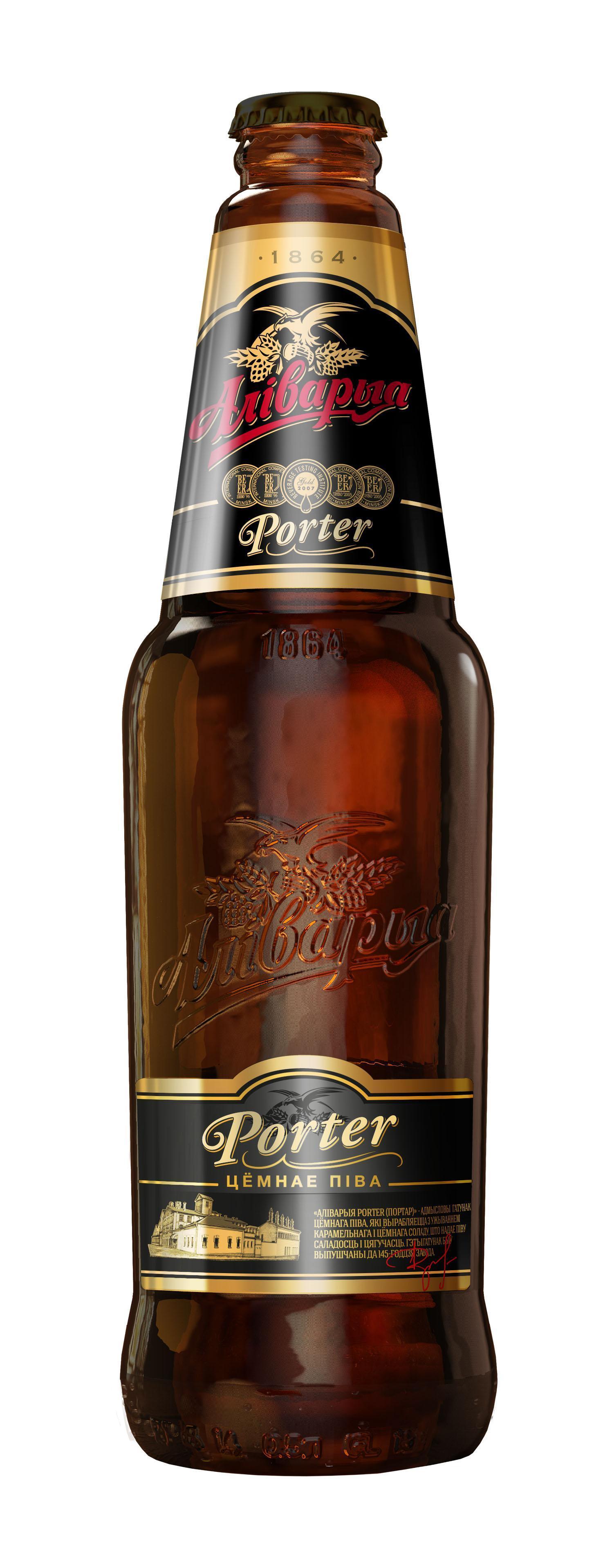 Пиво Аливария Портер темное 6,5%
