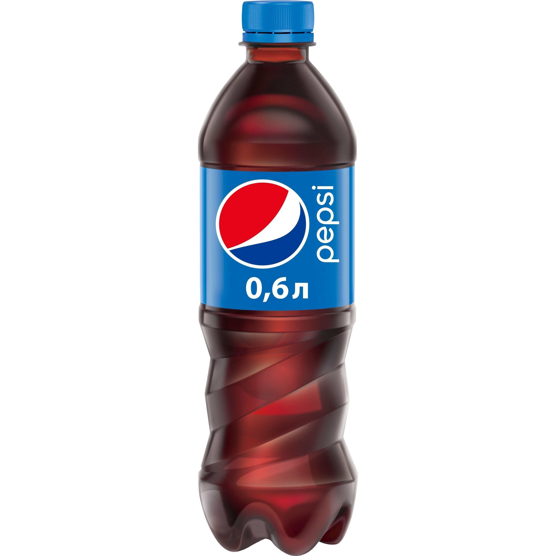 Газированный напиток Pepsi Cola 600 мл., ПЭТ