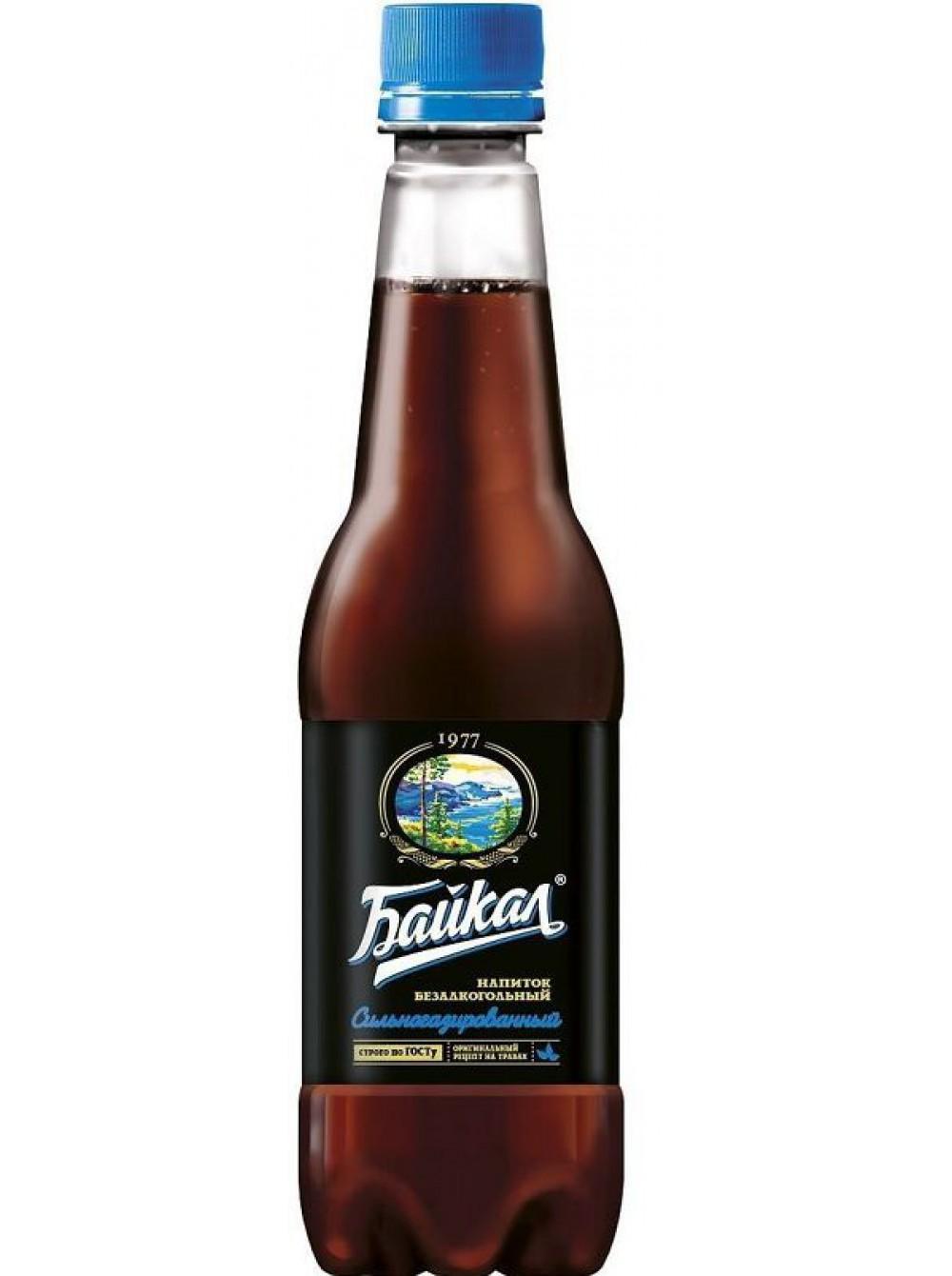 Газированный напиток Байкал 1977