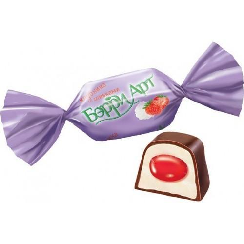 Конфеты Berry Art Клубника