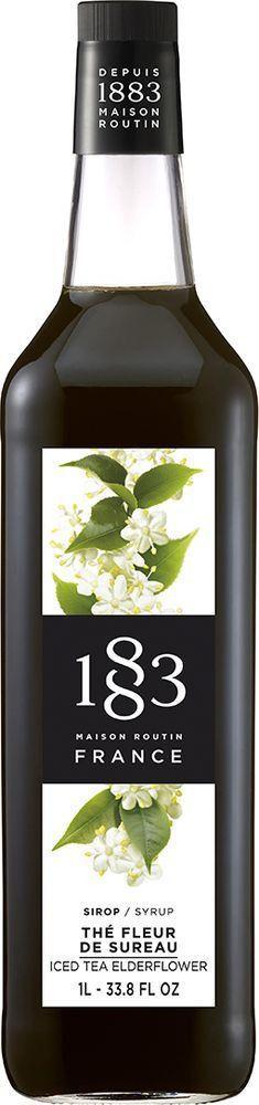 Сироп 1883 Maison Routin Холодный чай с ароматом цветов бузины