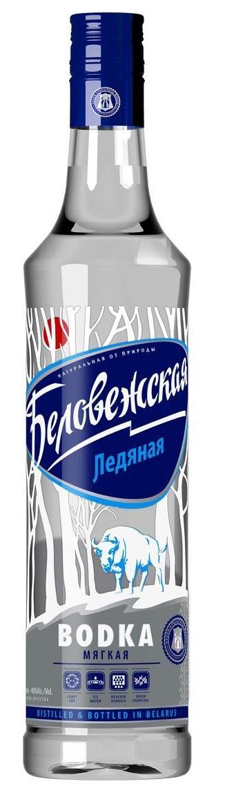 Водка Беловежская Ледяная Мягкая 38%