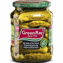 Корнишоны Green Ray деликатесные маринованные