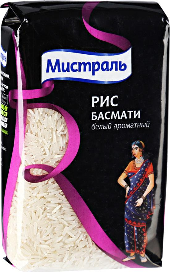 Рис Мистраль белый ароматный Басмати Gold