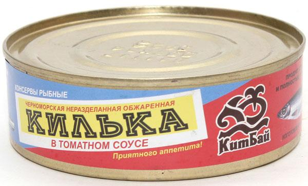 Килька Кит Бай в томатном соусе