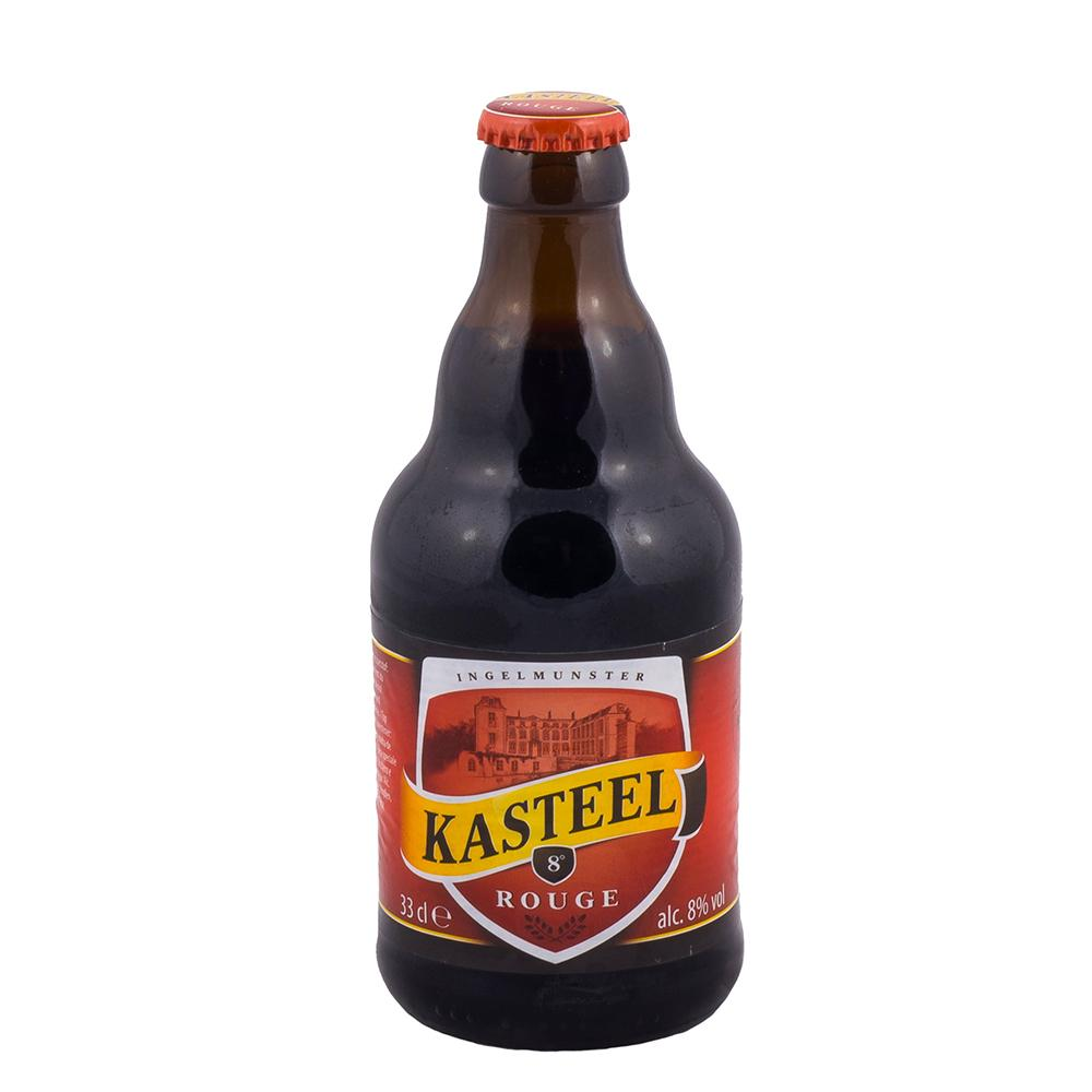 Пиво Van Honsenbrouck Kasteel Rouge пастеризованное нефильтрованное 8%
