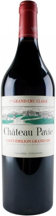 Вино Шато Пави 1-й Гран Крю Классе /  Chateau  Pavie 1-er Grand Cru Classe,  Мерло, Каберне Совиньон, Каберне Фран,  Красное Сухое, Франция