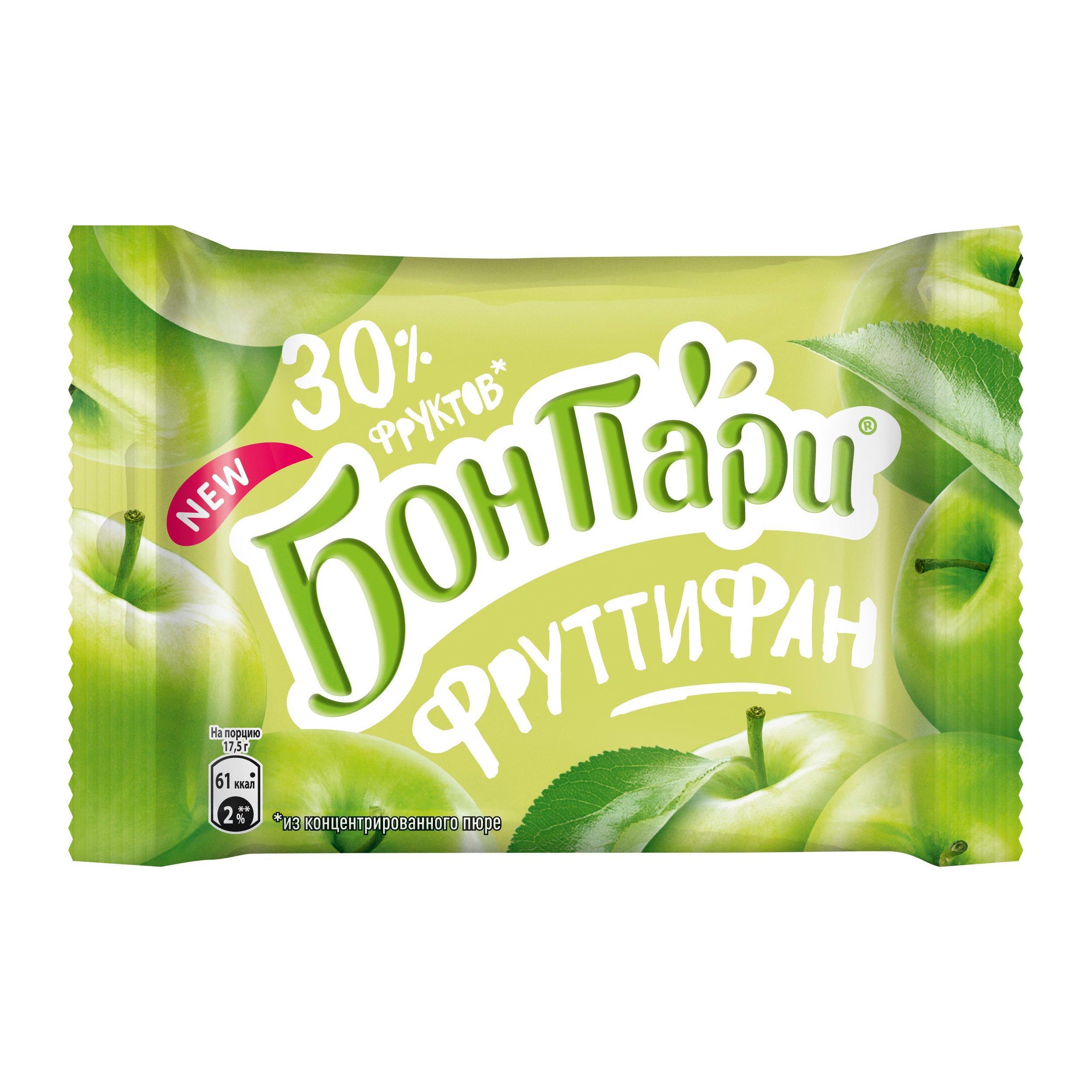Мармелад Бон Пари Фрутифан яблоко, 42гр