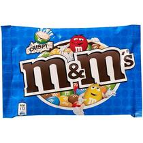 Драже M&M's Криспи С хрустящим центром в молочном шоколаде