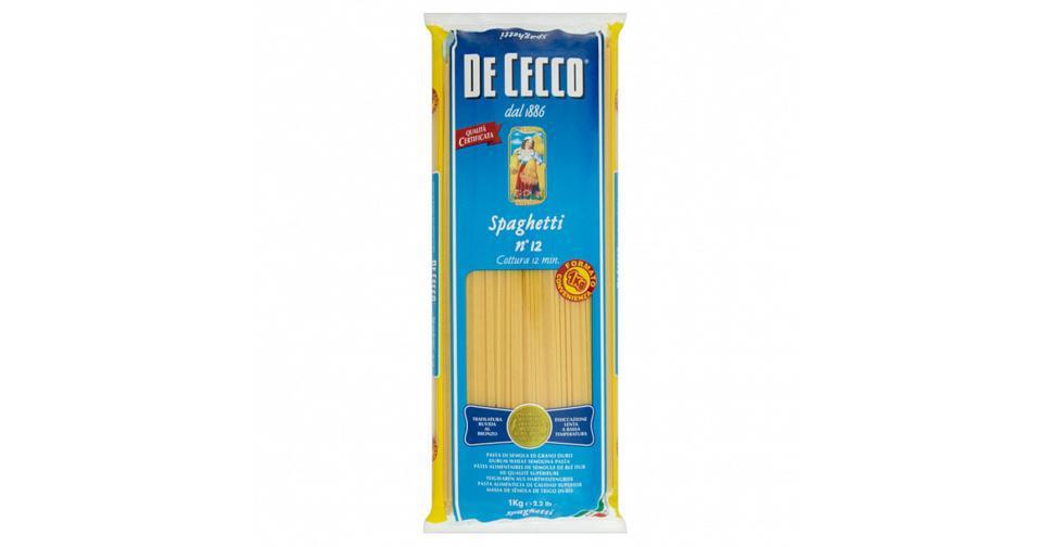 Макароны DeCecco Spaghetini №12 1кг