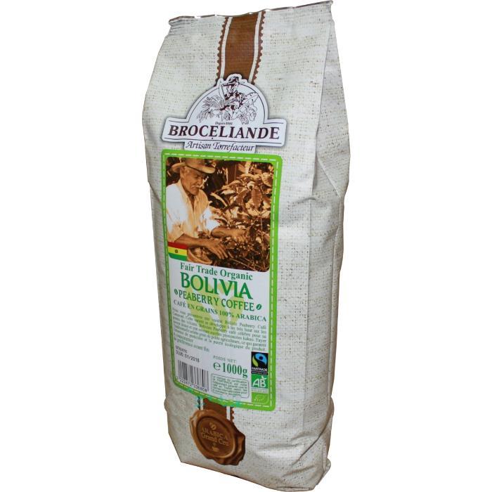 Кофе Broceliande Боливия в зернах 1 кг.