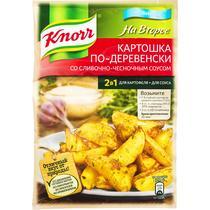 Приправа Knorr Картошка по-деревенски со сливочно-чесночным соусом 28 гр