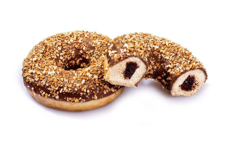 Донат Dawn Foods с ореховой начинкой покрытый дробленым орехом 36 шт., Нидерланды