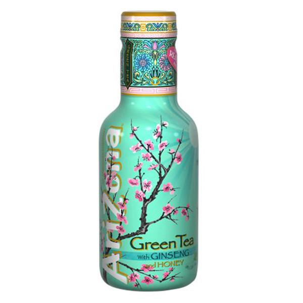 Чай холодный AriZona Ginseng and honey Green