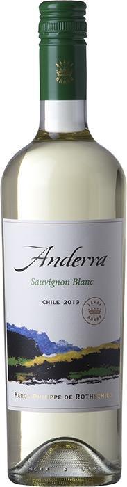 Вино Андерра Совиньон Блан / Anderra Sauvignon Blanc,  Совиньон Блан,  Белое Сухое, Чили