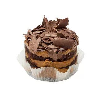 Пирожные Слоянка Шоколадные в крошке с нежным кремом