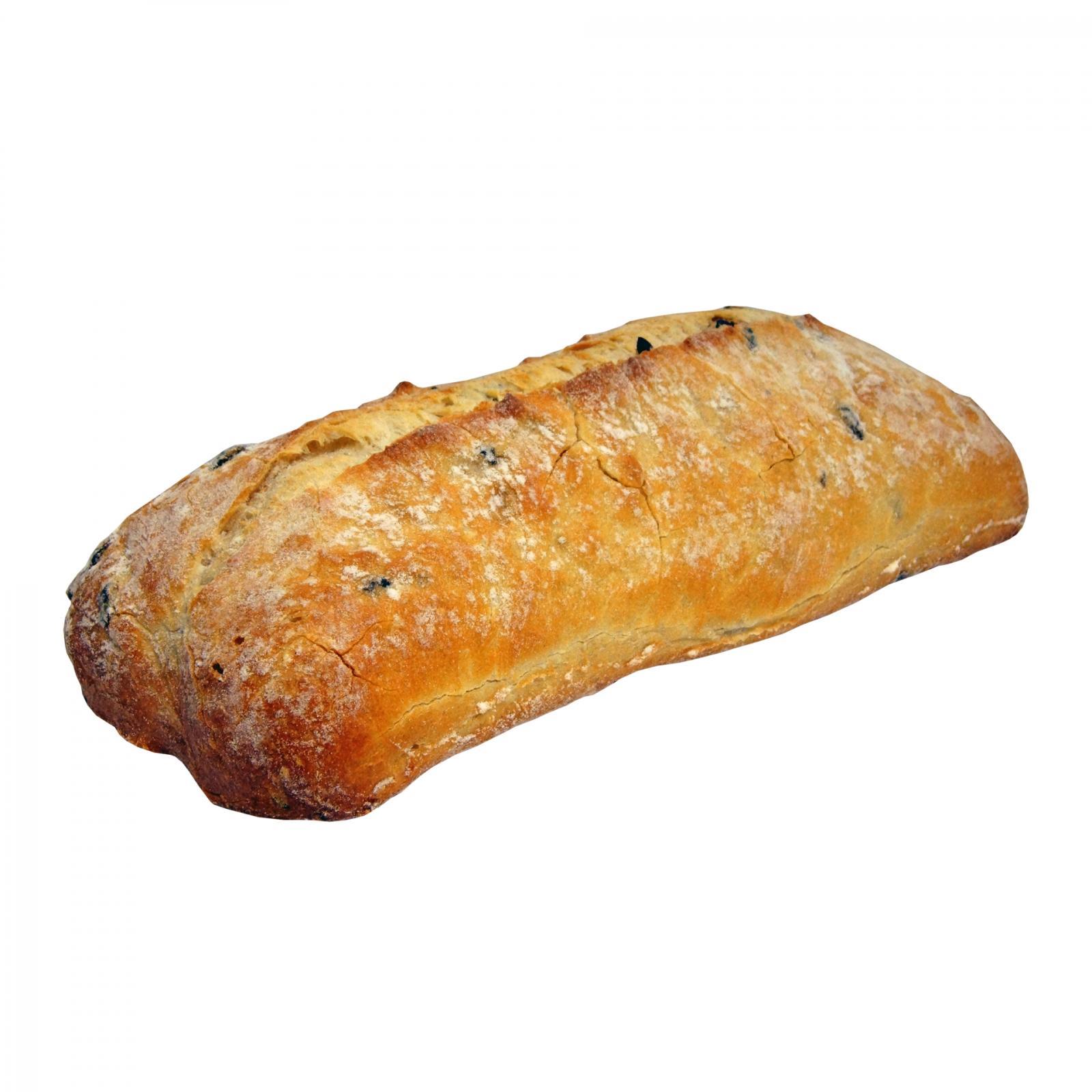 Хлеб Русь-Бейкери Чиабатта с оливками