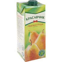 Нектар Красавчик Медовая груша 0,93 л.