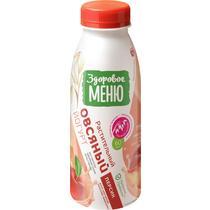 Йогурт овсяный с персиком Здоровое меню 330мл