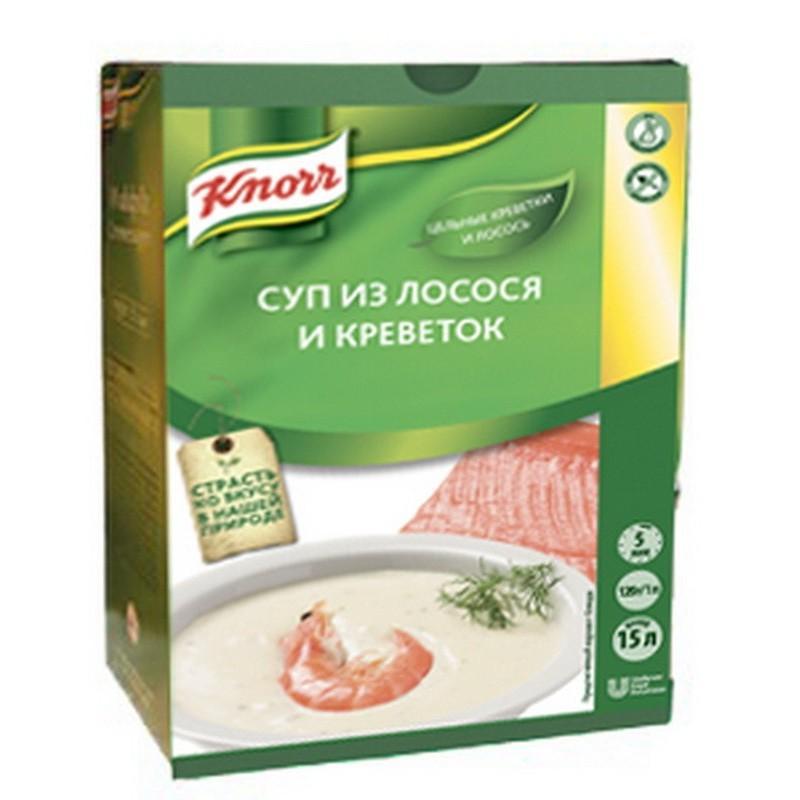 Суп-Пюре Knorr из лосося с креветками