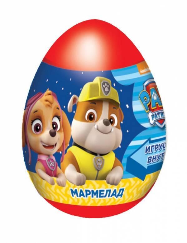 Мармелад Конфитрейд Щенячий патруль с игрушкой-ластики
