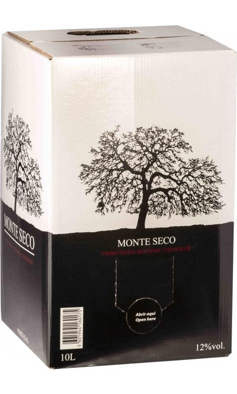 Вино Монте Секо Ред / Monte Seco Red,  Турига Франка, Тинта Рориш,  Красное Сухое, Португалия