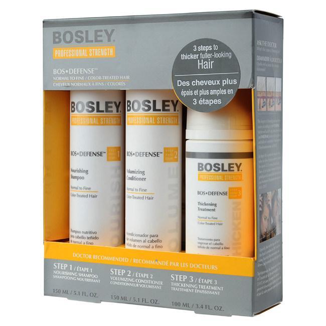 Набор Bosley желтая для нормальных тонких окрашенных волос