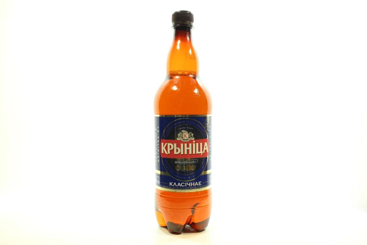 Пиво Крыница классическое светлое пастеризованное 4.6%