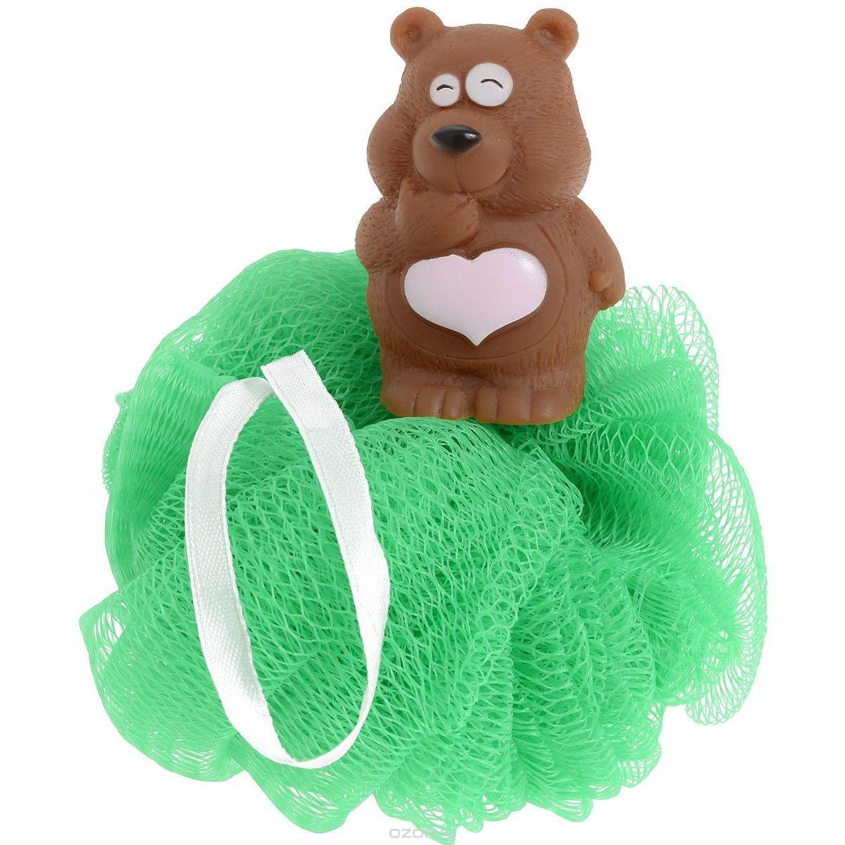Мочалка Biocos с игрушкой