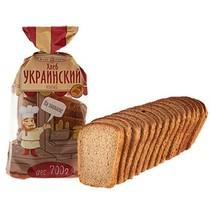 Хлеб Хлебозавод №28 Украинский новый формовой нарезка
