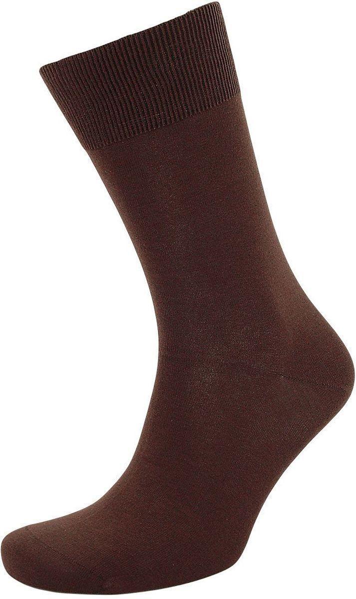 Носки муж 15D11 коричневые 25 размер