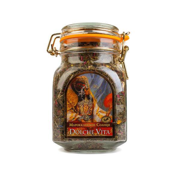 Чай Dolche Vita Марокканское Солнце элитный 200 гр