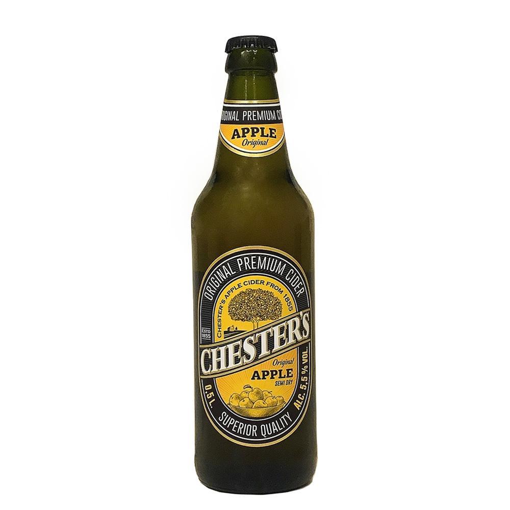 Сидр Chester`s Poire газированный сладкий 5,5%