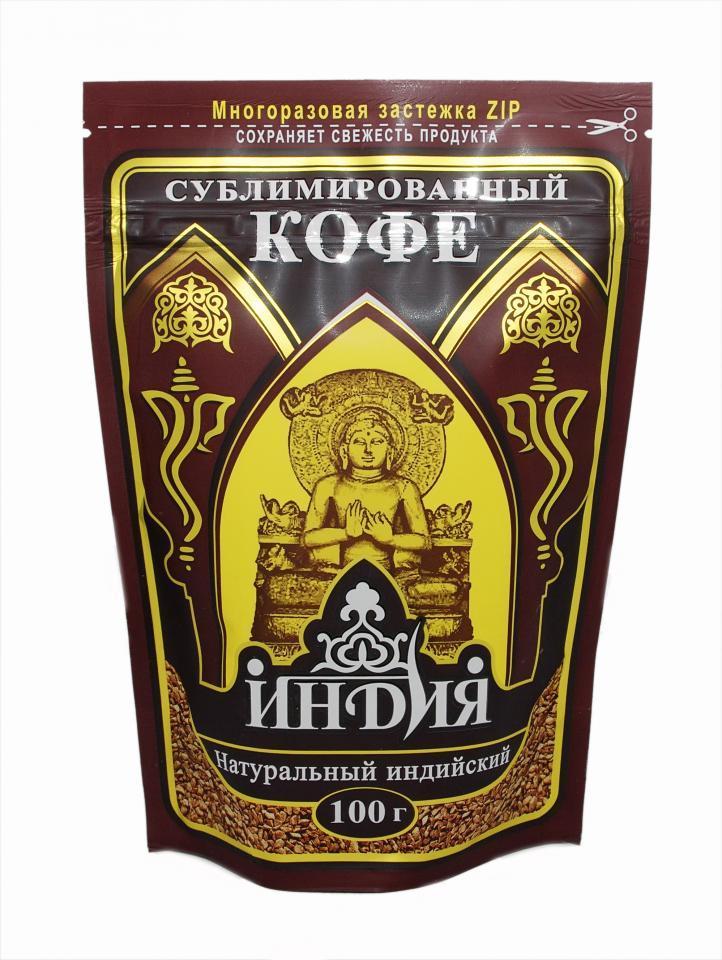 Кофе Индия растворимый сублимированный