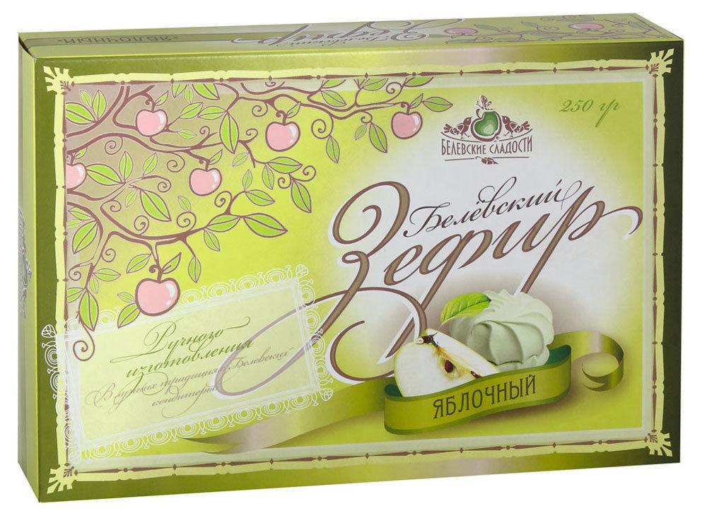 Зефир Белевские Сладости яблочный