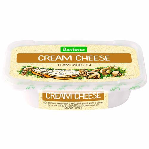 Сыр Bonfesto Cream Cheese шампиньоны