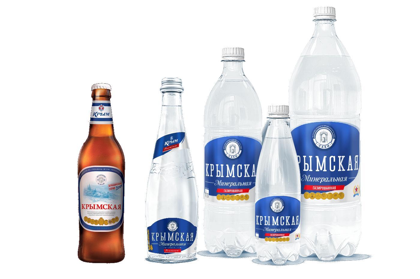 Минеральная вода Крым Крымская