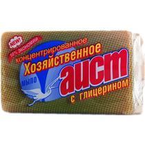 Мыло Аист Хозяйственное с глицерином Для стирки Кусковое