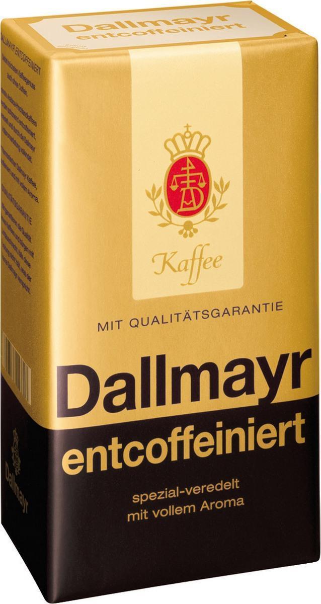 Кофе Dallmayr Entcoffeiniert Молотый декофеинизированный