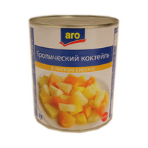 Ассорти Aro фруктовое в сиропе